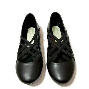 kenneth cole braid leather ballet comfort flat kid